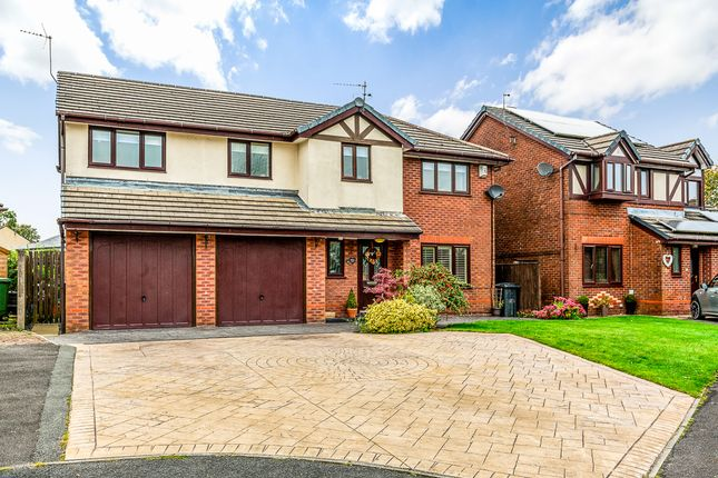 Thumbnail Detached house for sale in Willow Park, Oswaldtwistle, Accrington