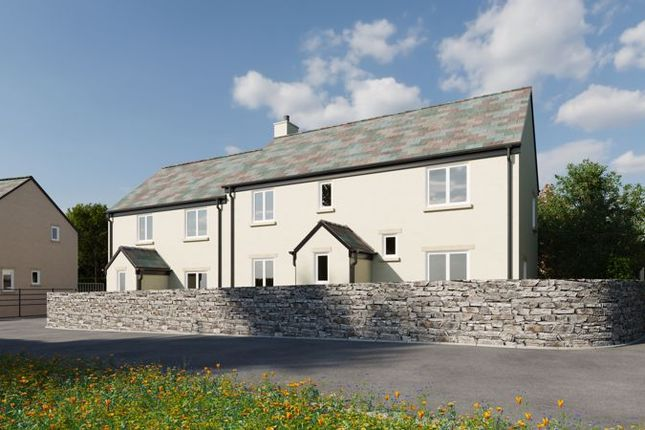 Thumbnail Semi-detached house for sale in Plot 5, Woodcote, Chagford