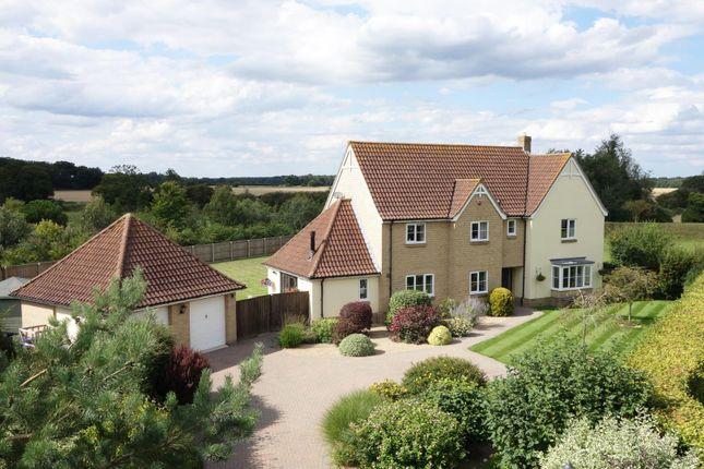 Thumbnail Detached house for sale in Vine Close, Coney Weston, Bury St. Edmunds