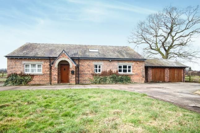 Thumbnail Detached house for sale in Fieldhouse Farm, Swettenham Road, Somerford Booths, Cheshire