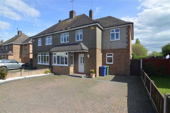 Thumbnail Semi-detached house for sale in Gloucester Avenue, East Tilbury, Essex
