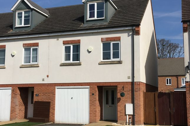 Thumbnail Terraced house for sale in Seashell Close, Allesley, Coventry