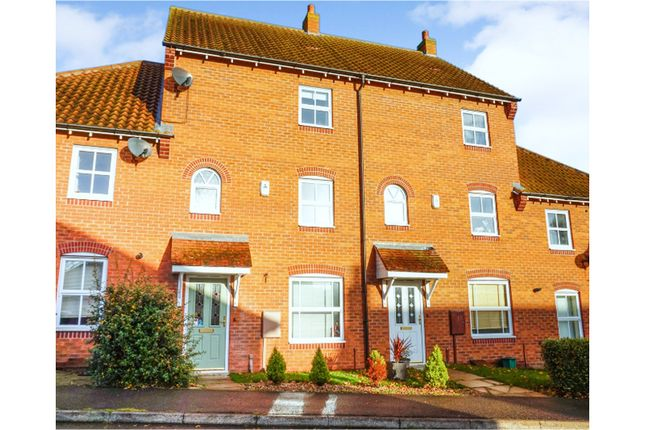 4 bed terraced house for sale in Sorrel Road, Lincoln