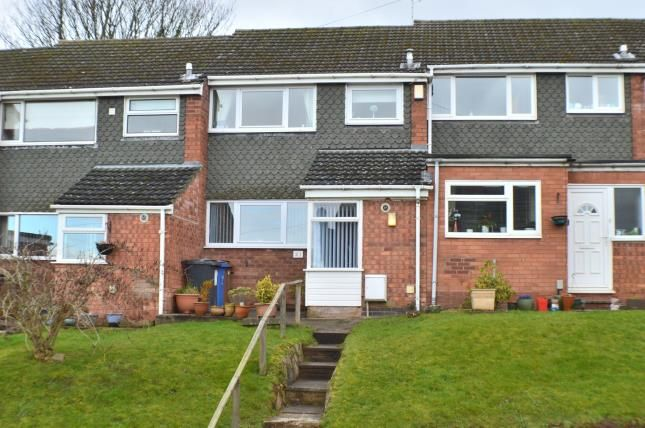 Thumbnail Terraced house for sale in Rectory Gardens, Off Rectory Lane, Armitage, Staffordshire