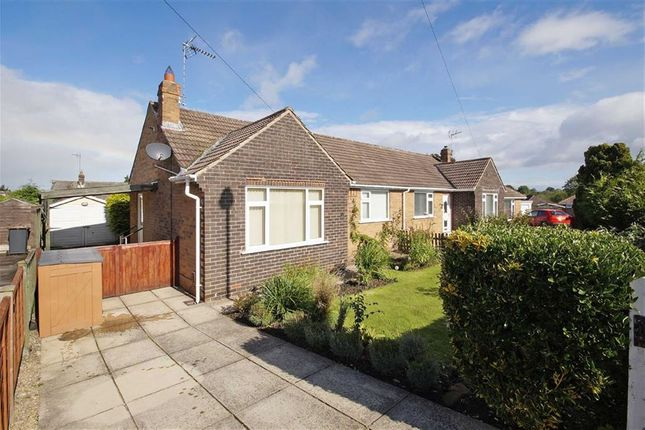 Thumbnail Semi-detached bungalow to rent in Sandhill Close, Harrogate, North Yorkshire