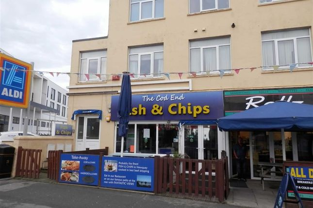 Thumbnail Restaurant/cafe for sale in The Cod End Chippy, 9, Cliff Road, Newquay