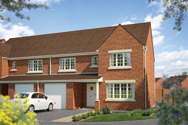 "Thumbnail Semi-detached house for sale in ""The Highworth"" at Townsend Road, Shrivenham, Swindon"