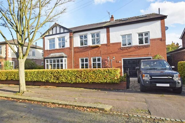Thumbnail Detached house for sale in Essex Avenue, Didsbury, Manchester