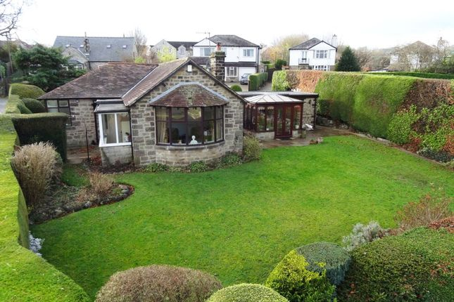 Thumbnail Detached bungalow for sale in The Yeld, Bakewell, Derbyshire