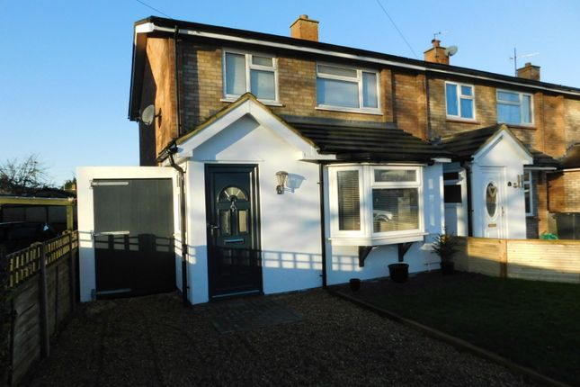 Thumbnail Semi-detached house for sale in Church Lane, Arlesey, Beds