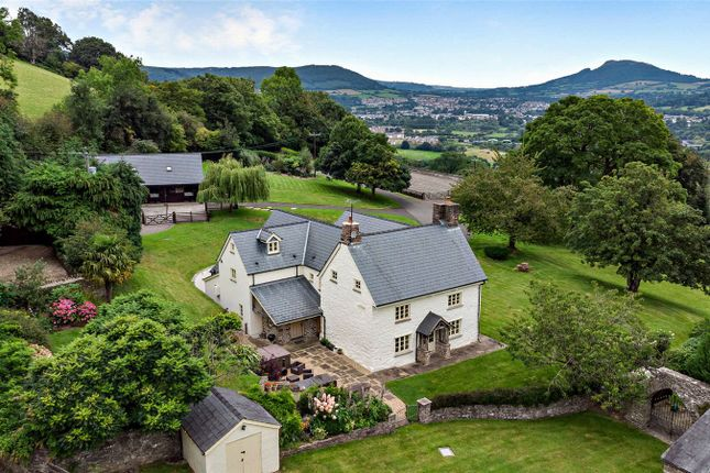 Thumbnail Equestrian property for sale in Llanellen, Abergavenny, Monmouthshire