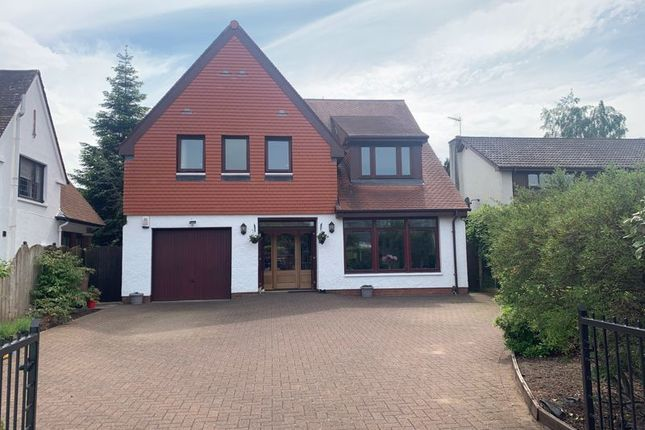 Thumbnail Detached house for sale in Baird Road, Alloway, Ayr