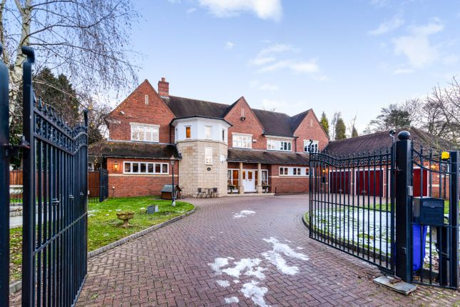 Thumbnail Detached house for sale in Jervis Park, Sutton Coldfield, West Midlands
