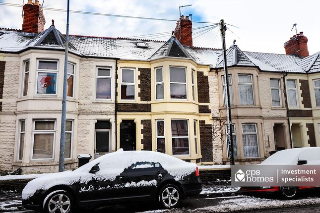 Thumbnail Terraced house for sale in Monthermer Road, Roath, Cardiff