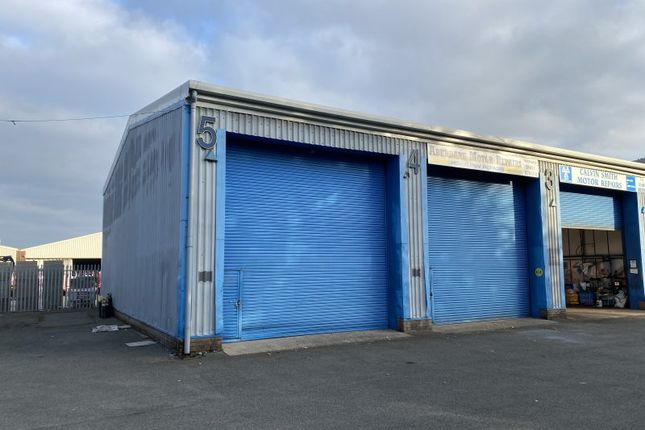 Thumbnail Industrial to let in Unit 5, Cwmbach Industrial Estate, Aberdare