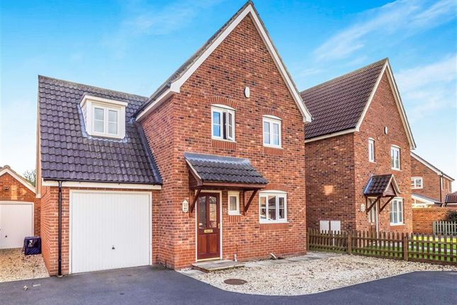 Thumbnail Detached house for sale in Leonard Medler Way, Hevingham, Norwich