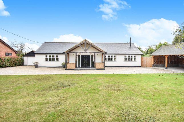 Thumbnail Detached bungalow for sale in Ferry Road, North Fambridge