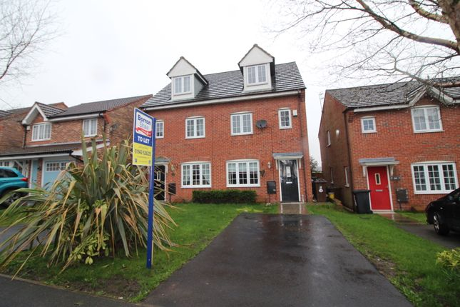 3 bed town house to rent in Martindale Crescent, Newtown, Wigan