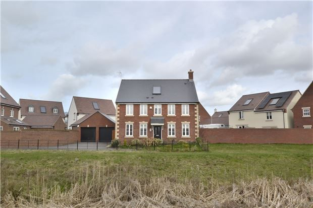 Thumbnail Detached House For Sale In Shorn Brook Close Hardwicke Gloucester