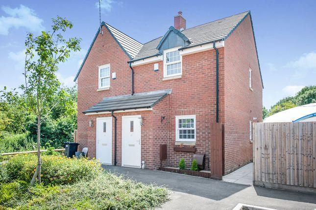 Thumbnail Semi-detached house for sale in Queens Crescent, Shrivenham, Oxfordshire