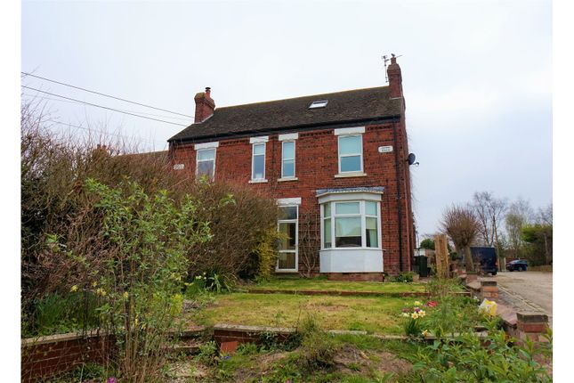 Thumbnail Semi-detached house for sale in High Street, Saxilby, Lincoln