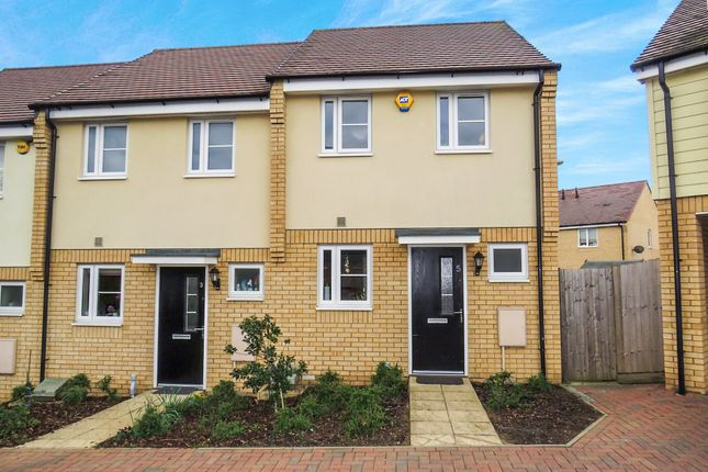Thumbnail End terrace house for sale in Lotus Mews, Dunstable