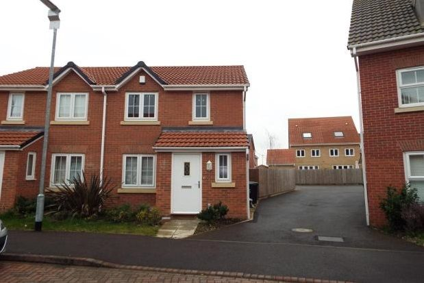 Thumbnail Semi-detached house to rent in Julius Way, North Hykeham Lincoln