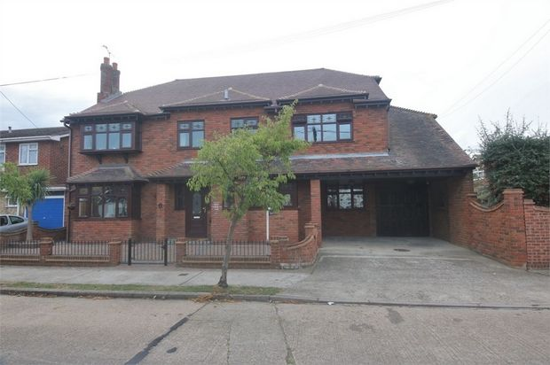 Thumbnail Detached house for sale in Southwick Road, Canvey Island, Essex