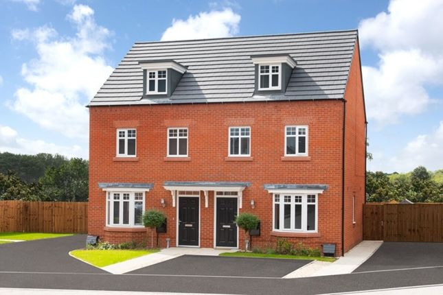 Thumbnail Terraced house for sale in Dixon Drive, Chelford, Macclesfield