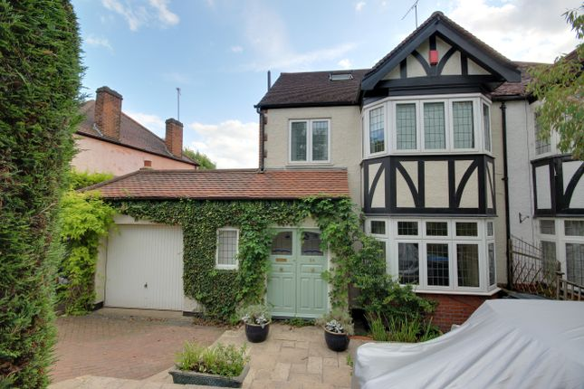 Thumbnail Semi-detached house for sale in Hadley Way, Winchmore Hill
