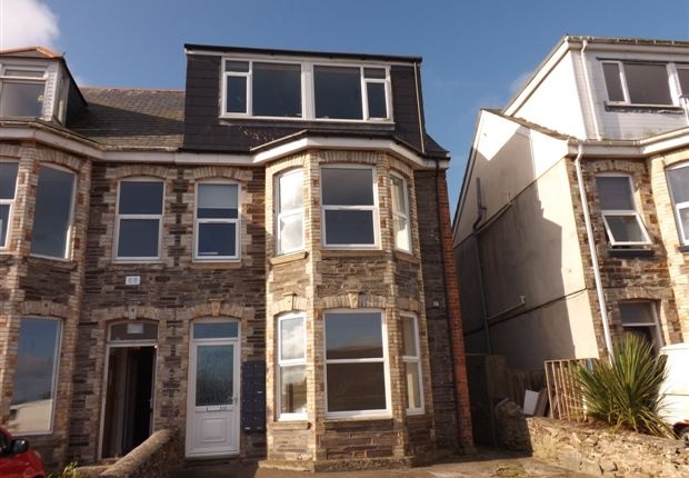 Thumbnail Flat to rent in Bay View Terrace, Newquay