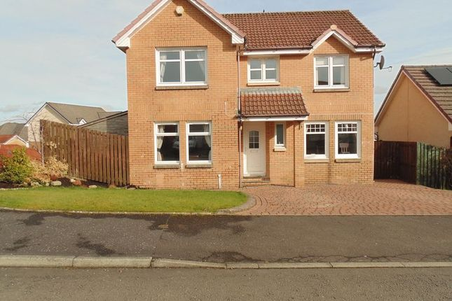 Thumbnail Detached house for sale in Burns Wynd, Stonehouse, Larkhall