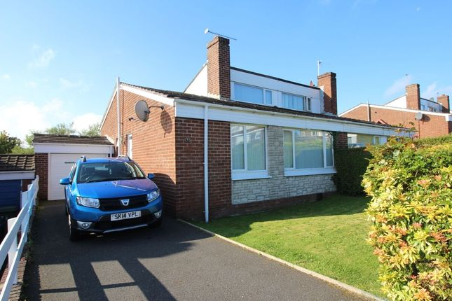 Thumbnail 3 bed semi-detached house for sale in Clandeboye Way, Bangor
