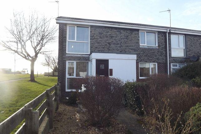 Thumbnail Flat to rent in Pembroke Gardens, Ashington