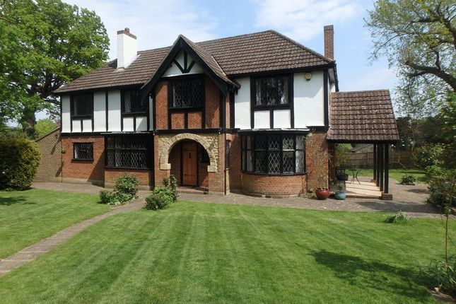 Thumbnail Detached house for sale in Wilmerhatch Lane, Epsom