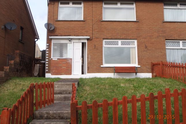 Thumbnail Semi-detached house to rent in Heol Aneurin, Penyrheol