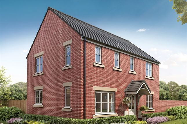 """Thumbnail 3 bed detached house for sale in """"The Pennington Corner"""" at Burlow Road, Harpur Hill, Buxton"""