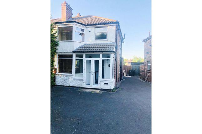 Thumbnail Semi-detached house to rent in Millington Road, Birmingham
