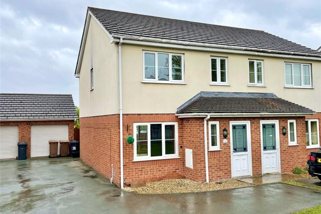 Thumbnail Semi-detached house for sale in College Road, Oswestry, Shropshire