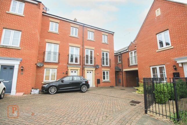Thumbnail Terraced house to rent in Roper Close, Colchester, Essex