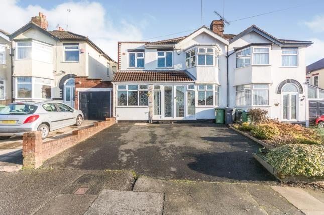 Thumbnail Semi-detached house for sale in Stanley Road, Oldbury, Birmingham, West Midlands