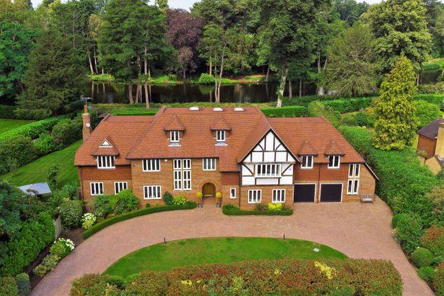 Thumbnail Detached house for sale in Onslow Road, Burwood Park, Walton-On-Thames, Surrey