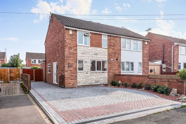 2 bed semi-detached house for sale in Shipton Drive, Uttoxeter ST14