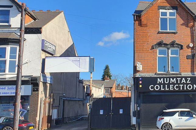 Land for sale in Stratford Road, Sparkhill, Birmingham B11