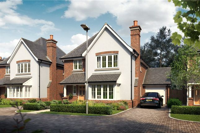 Thumbnail Link-detached house for sale in Victoria Place, Crowthorne, Berkshire