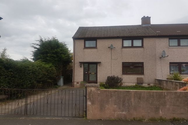 Thumbnail Semi-detached house to rent in Fernlea Crescent, Annan