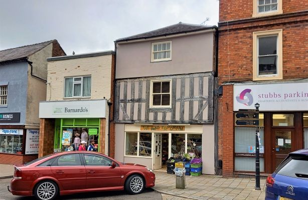 Retail premises for sale in 30 Cheshire Street And, 7 Queen Street, Market Drayton, Shropshire