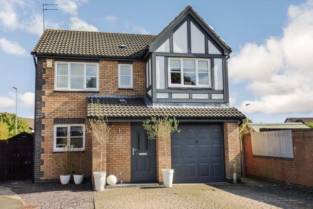 Thumbnail Detached house for sale in Halkirk Way, Cramlington