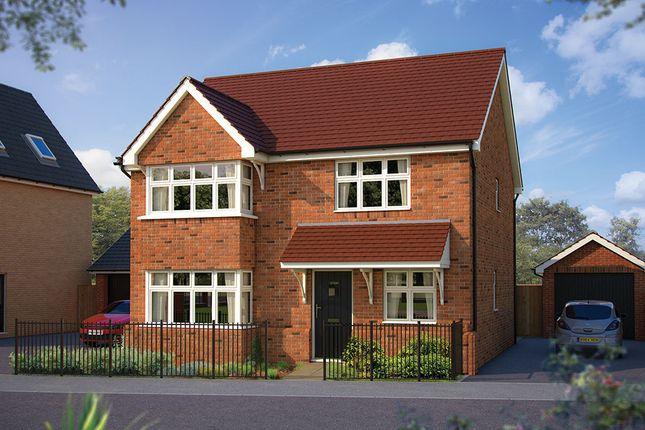 "Thumbnail Detached house for sale in ""The Canterbury"" at London Road, Calverton, Milton Keynes"