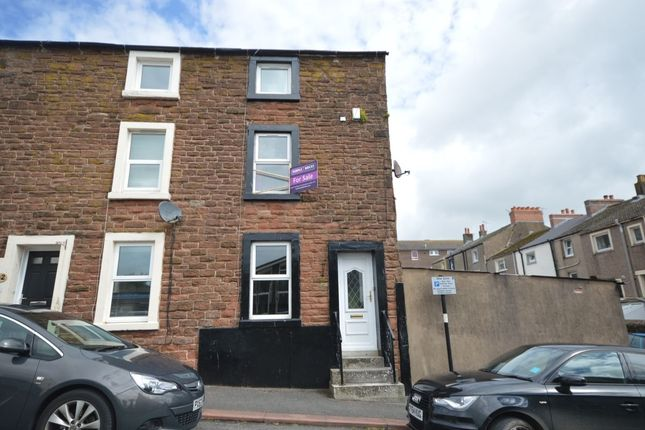 Thumbnail Terraced house to rent in Kirkby Street, Maryport